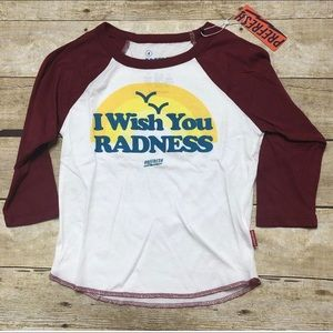 NWT Prefresh I wish you Radness t shirt